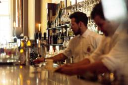 Cafe Luxembourg Amsterdam champagne en cocktails